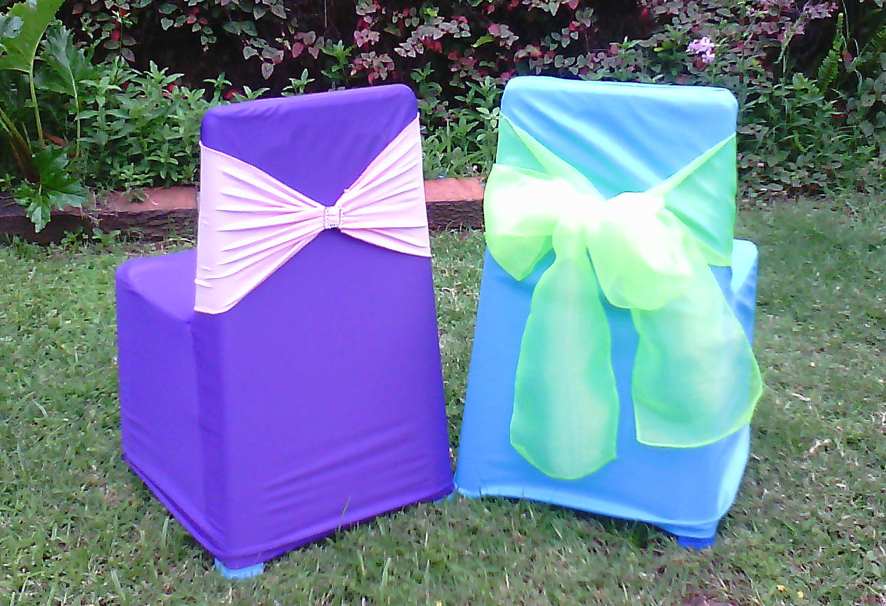 Merveilleux Kids Chair Covers And Bow Sets 24 Pack